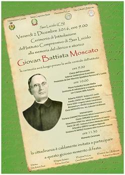 2 Dicembre 2016 Giovan Battista Moscato