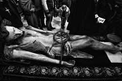 Giovedì  Santo - Deposizione  del  Cristo  - Aragona (Agrigento)
