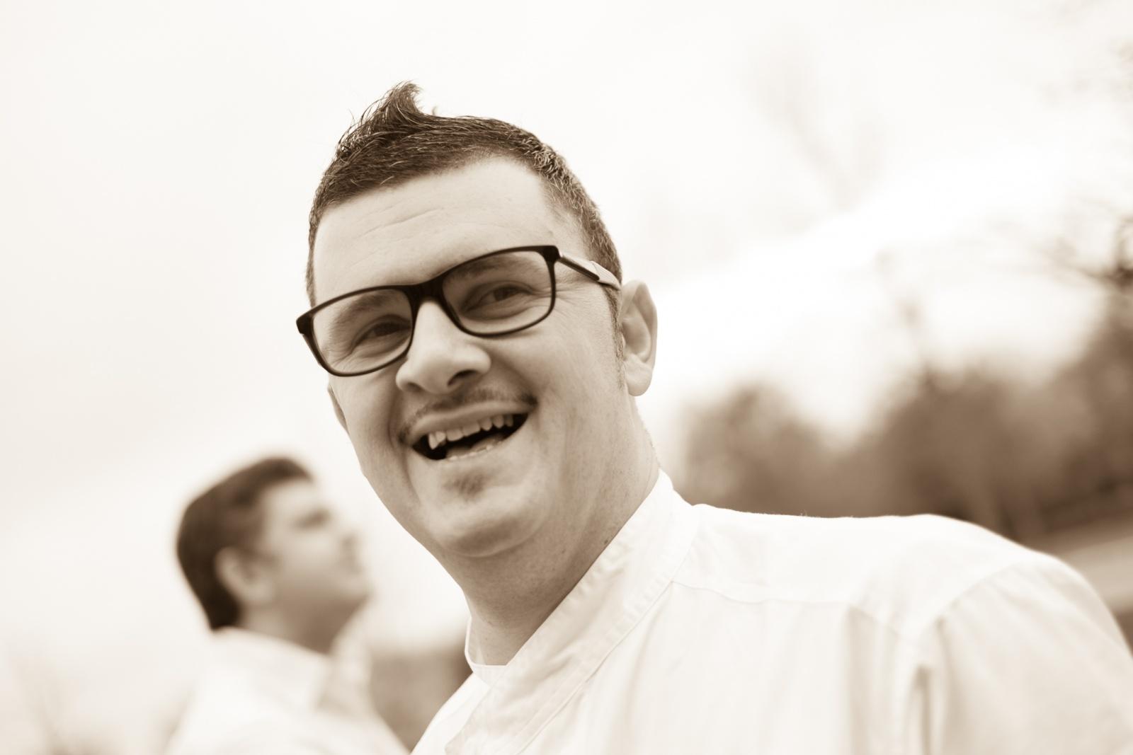 Claudio Cesena, Chef Osteria della Pesa e manager di Cascina Scottina