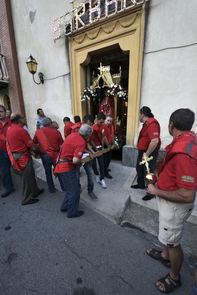 Festa di Santa Barbara - Frazione di Santa Barbara - Montalbano Elicona (Messina)