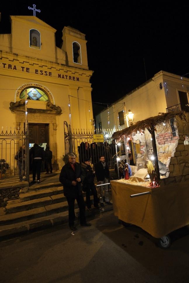 Festa del Bambinello (Chiesa Immacolata) - Barcellona Pozzo di Gotto (Messina) 25/12/2012