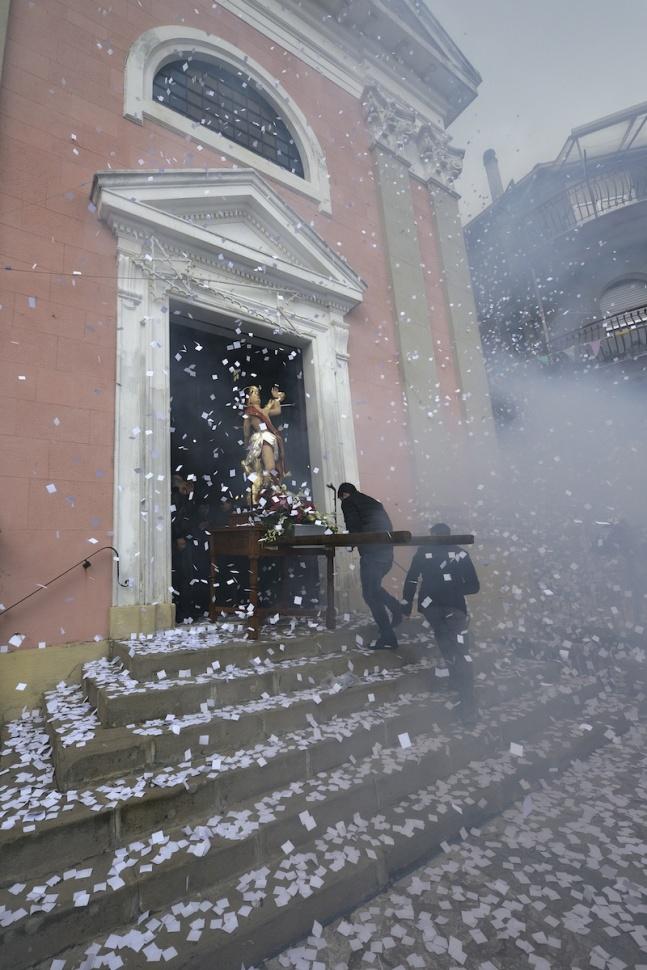 Festa di San Sebastiano a Limina