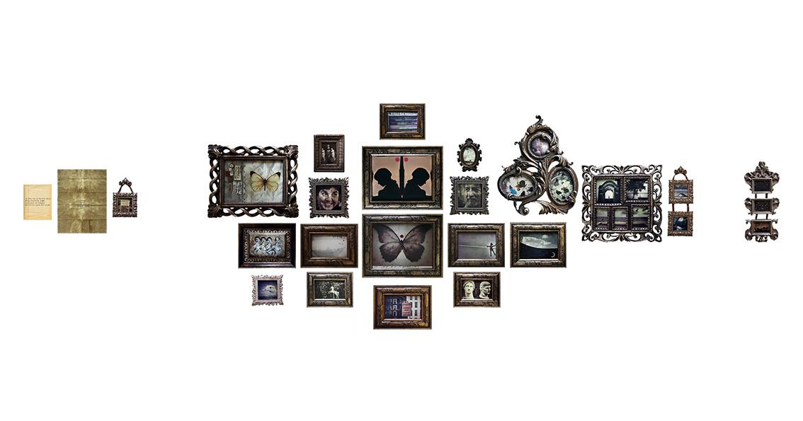 La simmetria della farfalla<br>tutta la mia vita su una parete